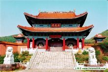 Ching Temple: Dunhua City, Jilin-provinsen Ching Temple